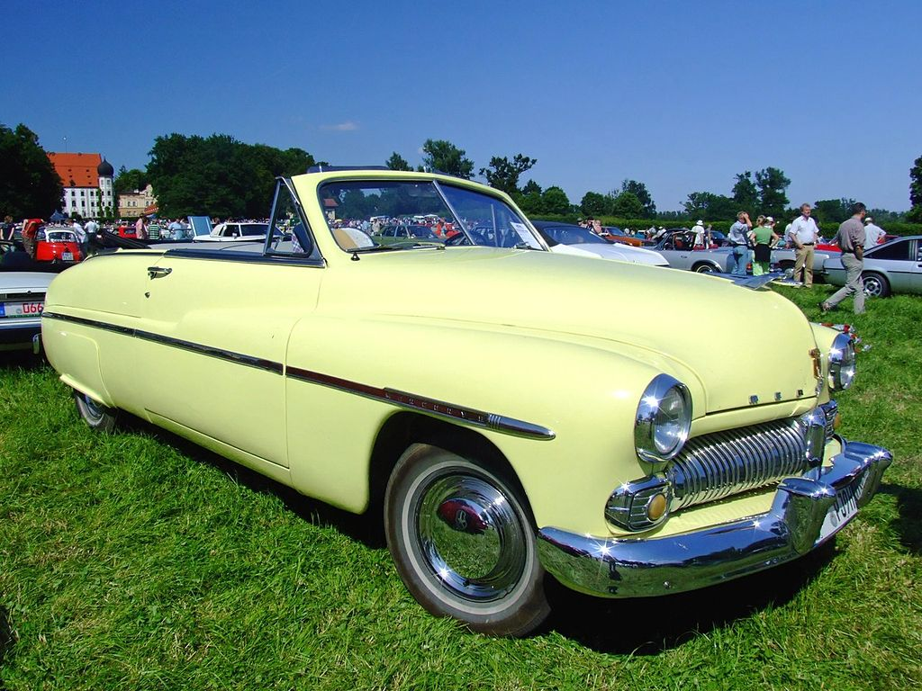 Mercury 8 Convertible 130PS 1950