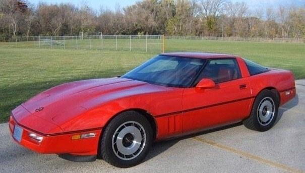 Corvette C4 von 1984