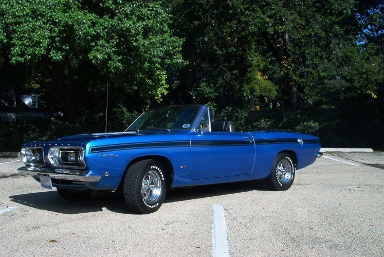 67 Barracuda Convertible